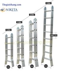 Thang nhôm khóa tự động Nikita NIKA 30